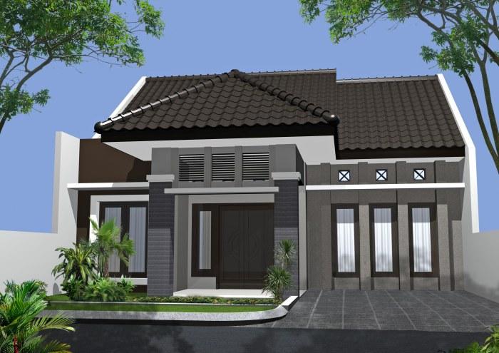 Desain Rumah Minimalis 1 Lantai (14)