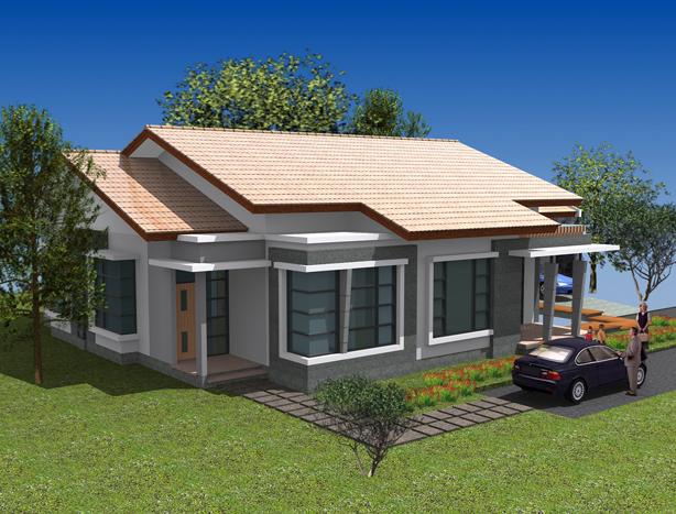 Desain Rumah Minimalis 1 Lantai (2)