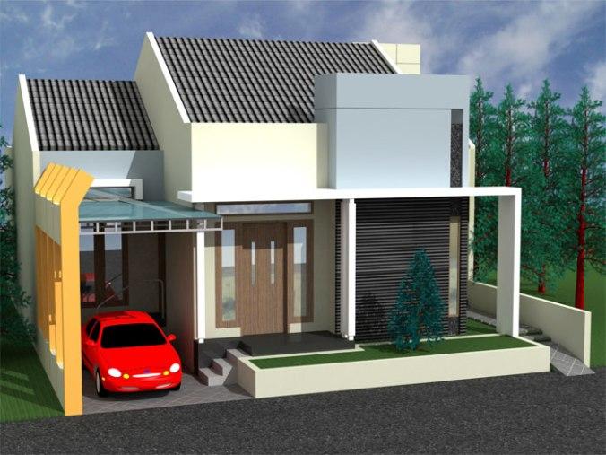 Desain Rumah Minimalis 1 Lantai (6)