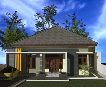 Desain Rumah Minimalis 1 Lantai (9)