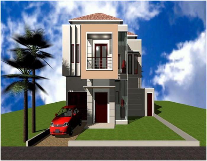 Desain Rumah Minimalis 2 Lantai (10)
