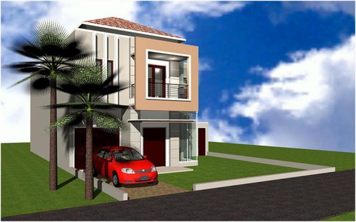Desain Rumah Minimalis 2 Lantai (11)