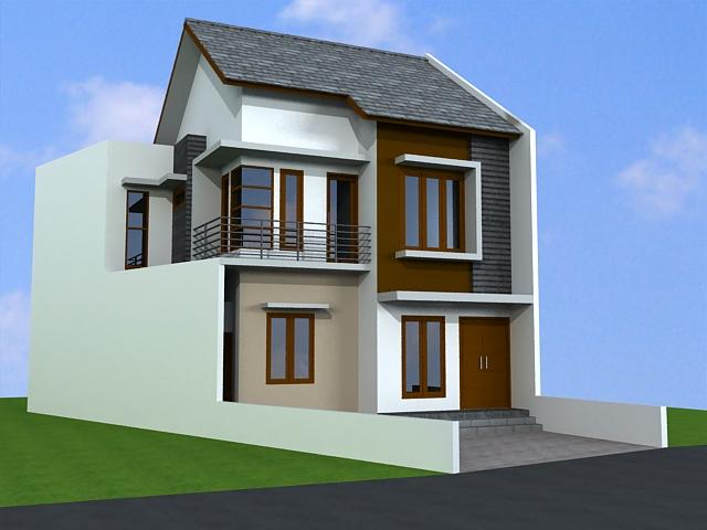 Desain Rumah Minimalis 2 Lantai (12)