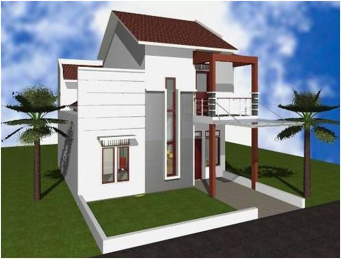 Desain Rumah Minimalis 2 Lantai (2)