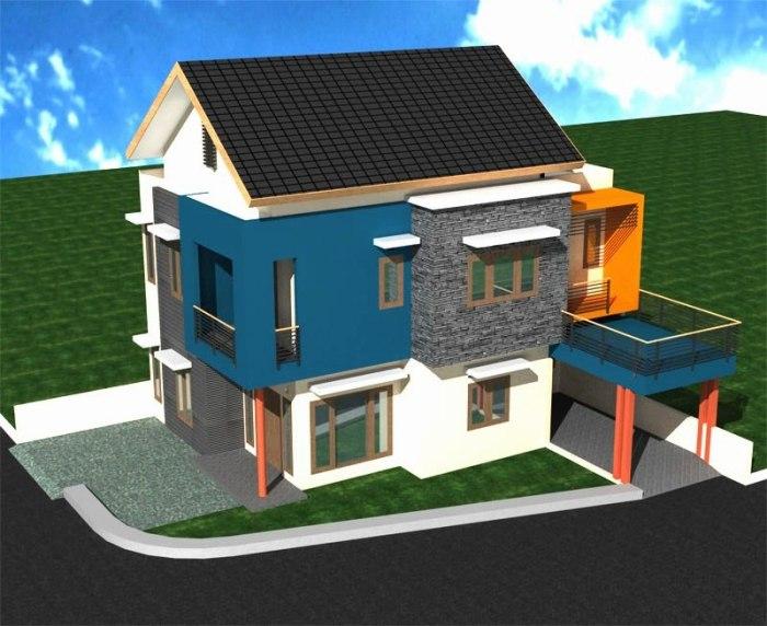 Desain Rumah Minimalis 2 Lantai (7)