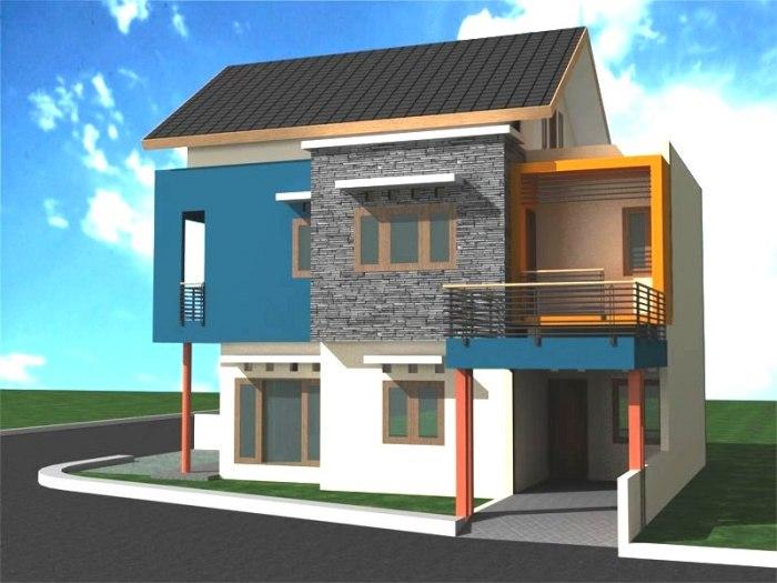 Desain Rumah Minimalis 2 Lantai (8)