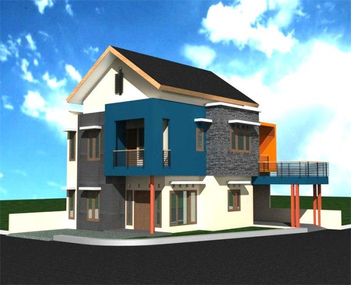 Desain Rumah Minimalis 2 Lantai (9)