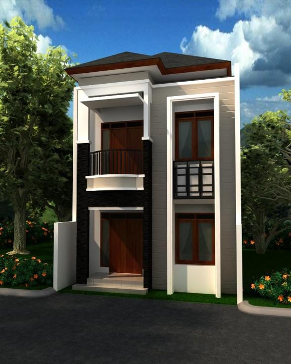 Gambar Rumah Minimalis 2 Lantai (1)