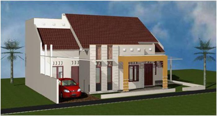 Gambar Rumah Minimalis Satu Lantai 10