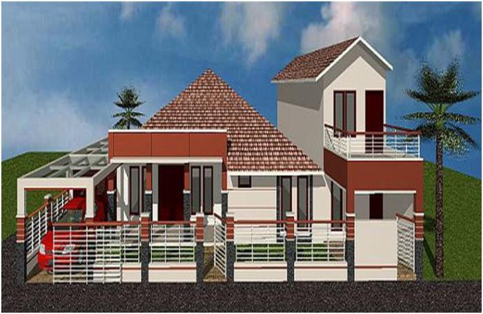 Gambar Rumah Minimalis Satu Lantai 11