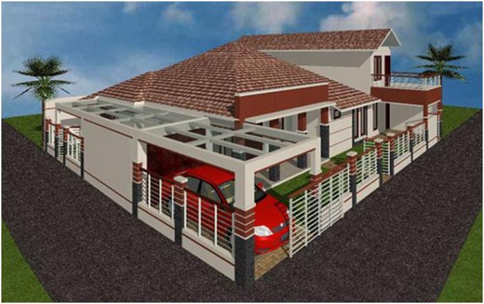 Gambar Rumah Minimalis Satu Lantai 13