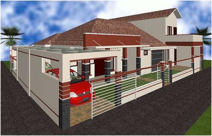 Gambar Rumah Minimalis Satu Lantai 15