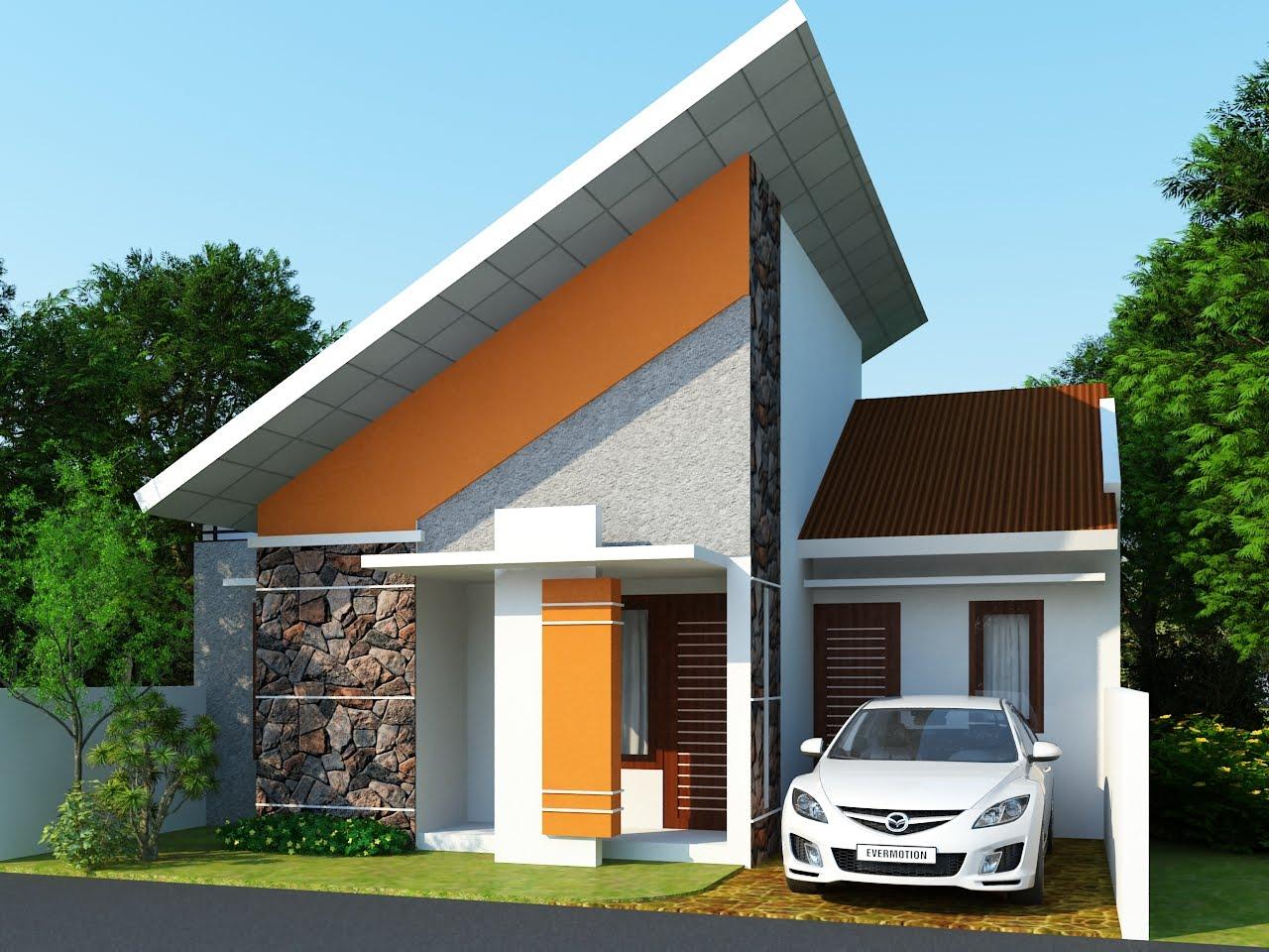 Gambar Rumah Minimalis Satu Lantai NGOPO