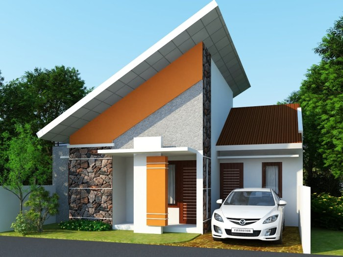 Gambar Rumah Minimalis Satu Lantai 2