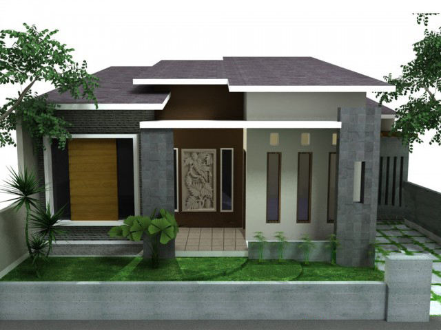 Gambar Rumah Minimalis Satu Lantai 3