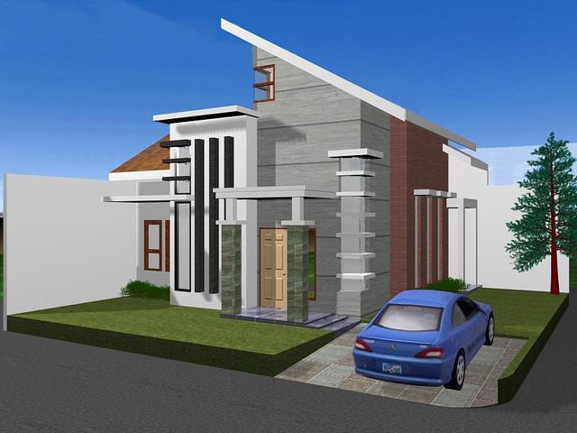 Gambar Rumah Minimalis Satu Lantai 4
