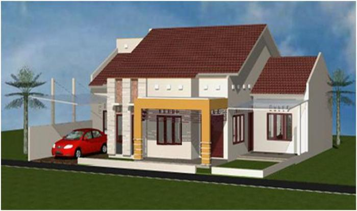 Gambar Rumah Minimalis Satu Lantai 9