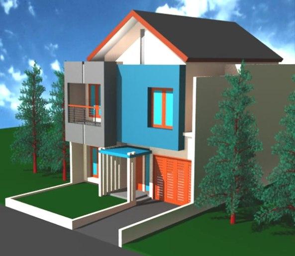 Gambar Rumah Minimalis Sederhana (1)