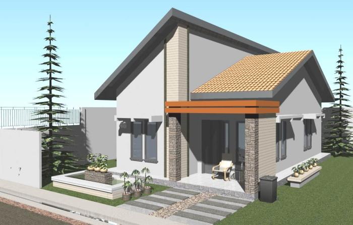 Model Rumah Minimalis Sederhana (10)
