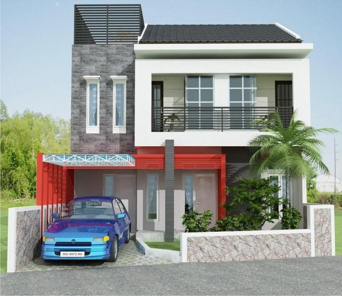 Model Rumah Minimalis Sederhana (4)