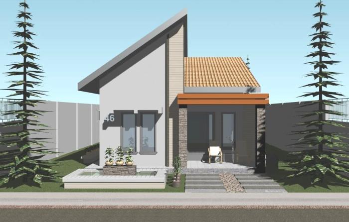 Model Rumah Minimalis Sederhana (9)