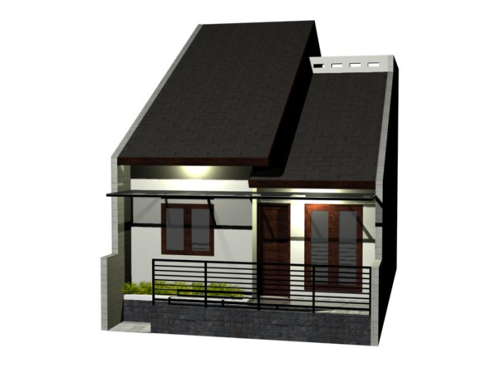 Model Rumah Minimalis Type 36 - 12