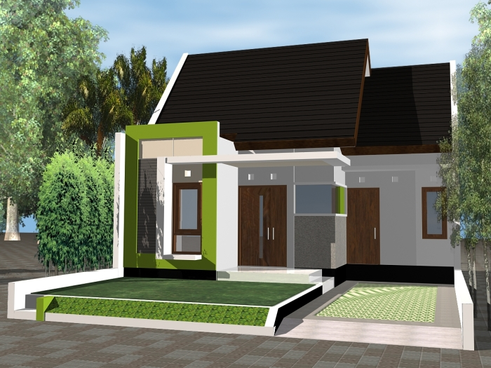 Model Rumah Minimalis Type 36 - 14