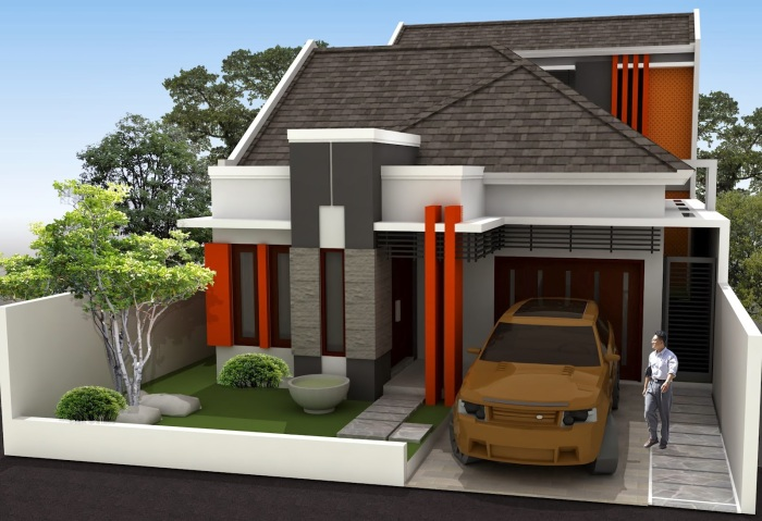 Model Rumah Minimalis Type 36 - 15