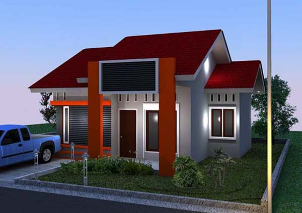 Model Rumah Minimalis Type 36 - 2