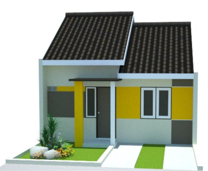 Model Rumah Minimalis Type 36 - 4