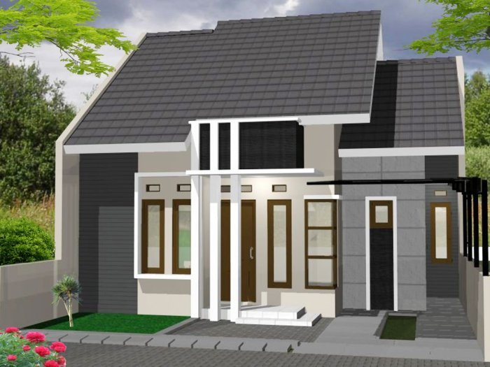 Model Rumah Minimalis Type 36 - 5