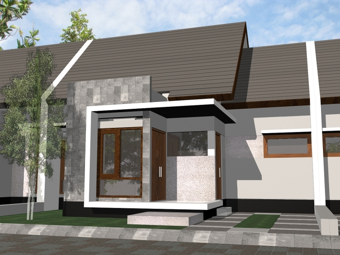 Model Rumah Minimalis Type 36 - 6