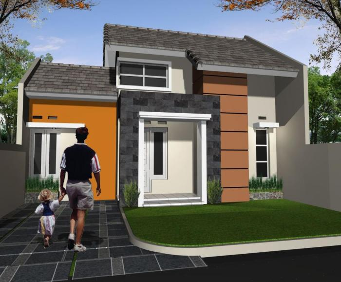 Model Rumah Minimalis Type 36 - 7