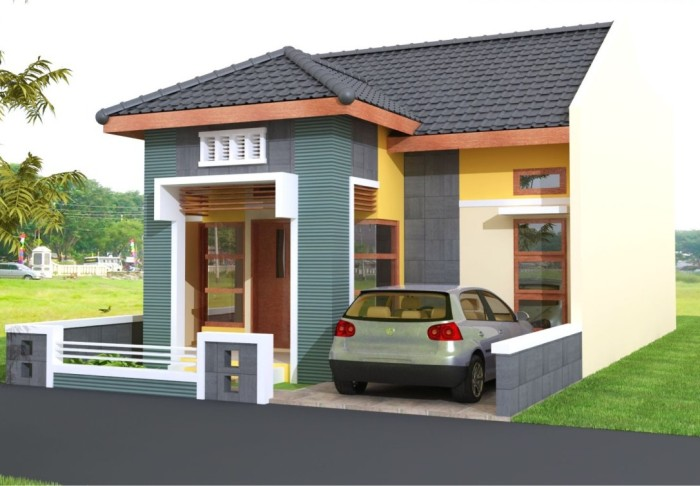 Model Rumah Minimalis Type 36 - 9